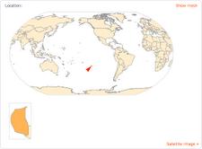 Pitcairn Islands map