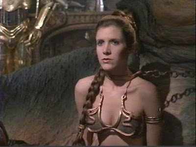 authentic princess leia slave costume. +princess+leia+gold+bikini