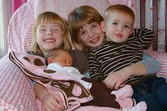 Anna, Megan, Patrick, baby Emily