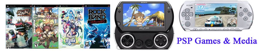 PSP Games and Media
