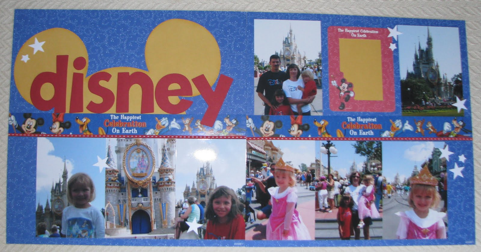 How to scrapbook disney - Rayna My Friend Found This Layout In A Creating Keepsake Magazine And Did It In Black White And Red Like They Did I Thought Hey Those Ears Would Look