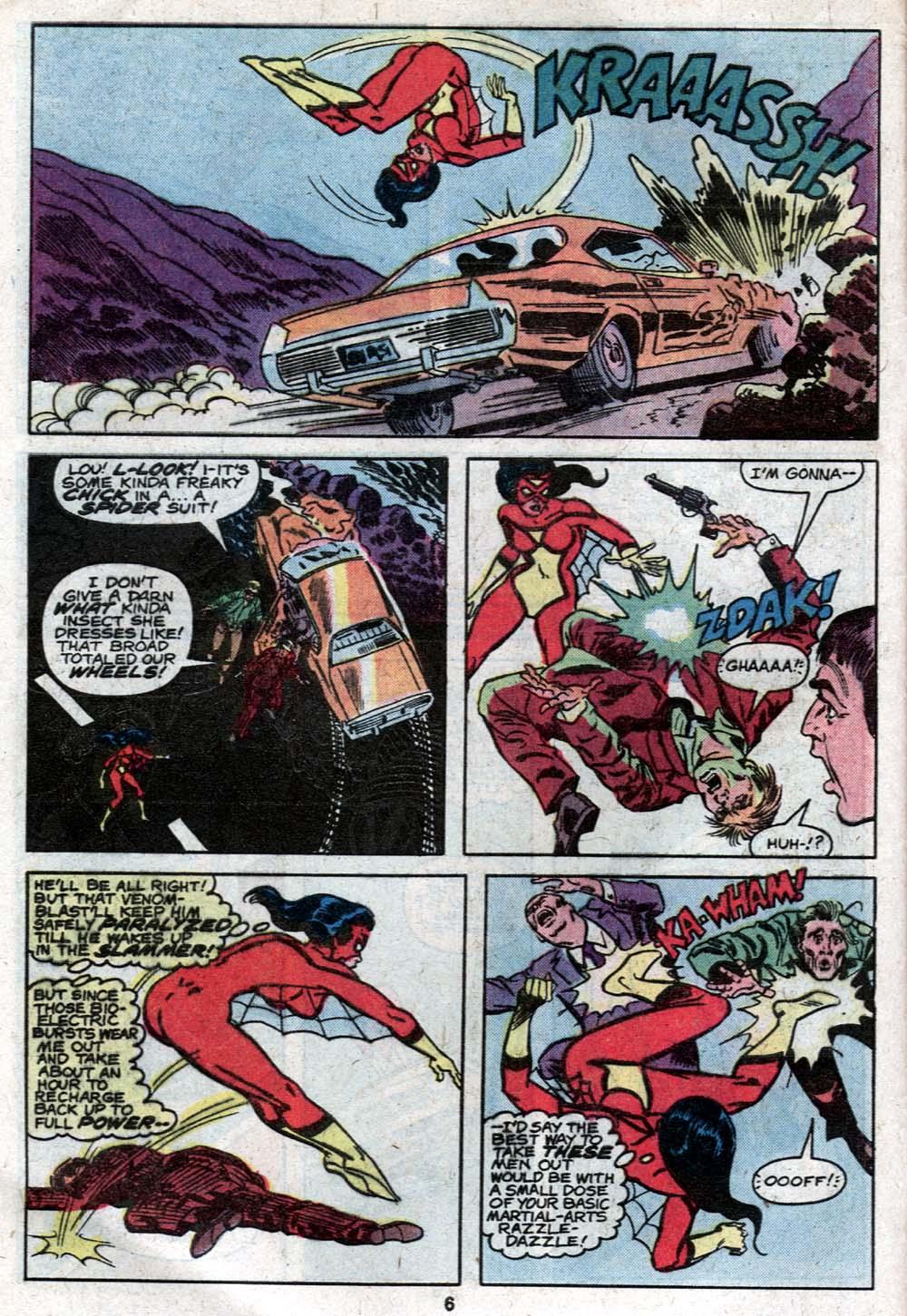 Spider-Woman (1978) #21 #30 - English 6