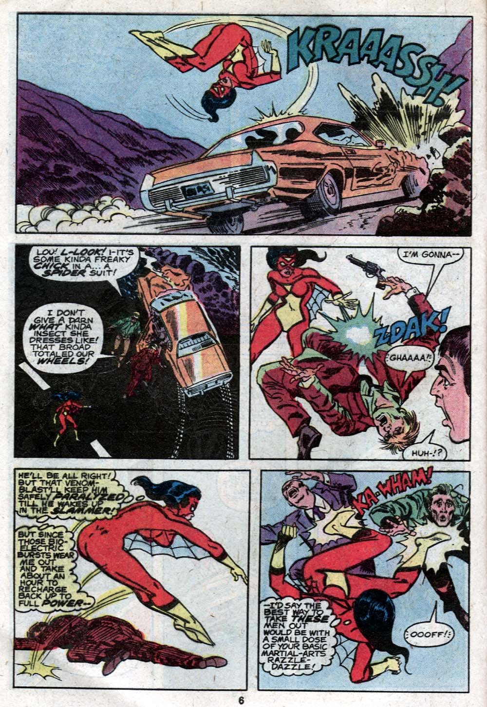 Spider-Woman (1978) Issue #21 #21 - English 6