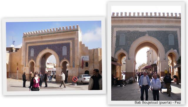 Bab boujeloud Fez