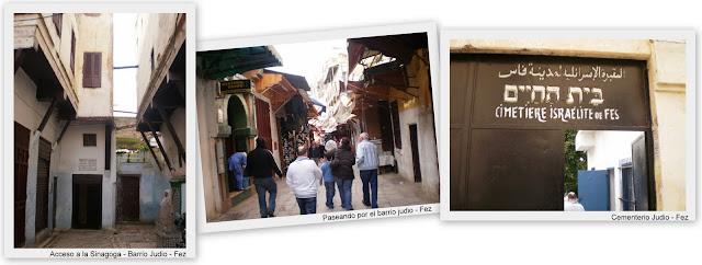 Mellah , barrio judío Fez