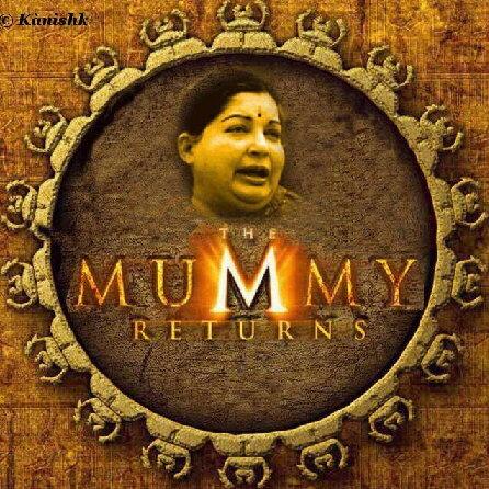 465. The Mummy Returns (Happy Mummy day for TN makkals)