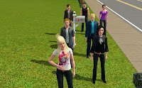 The Sims 3 Cullen family