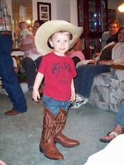 Jackson, the big booted cowboy!