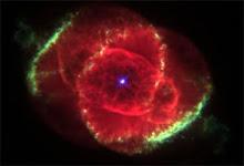 Gambar ini diambil oleh teleskop hubble di angkasa lepas