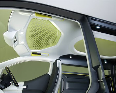Spacious Interior of Nissan NV200