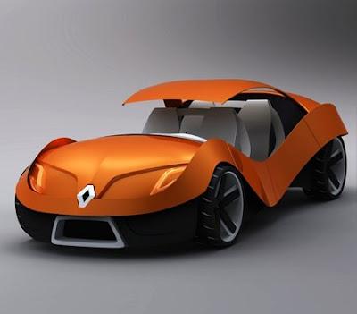 renault eo, concept car