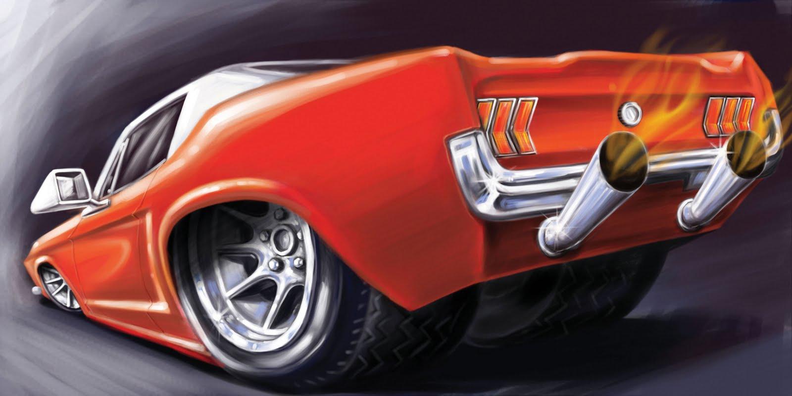 ÂNGELO CARTOONS: Caricaturas de Carros