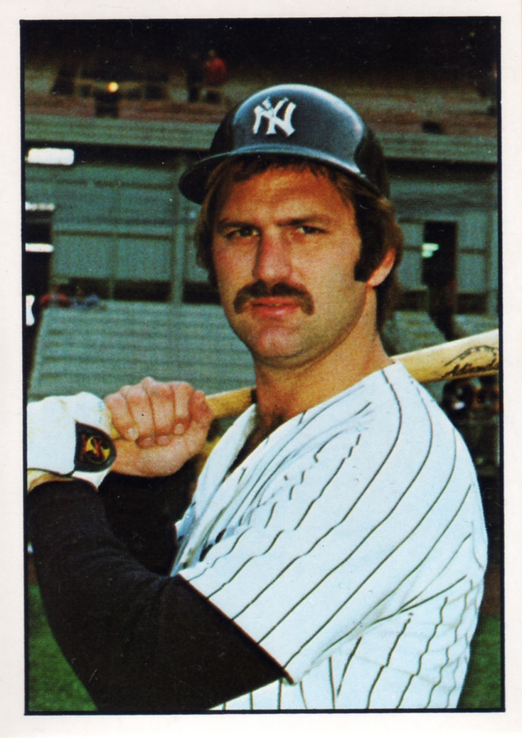 Number 5 Type Collection 1975 Sspc New York Yankees