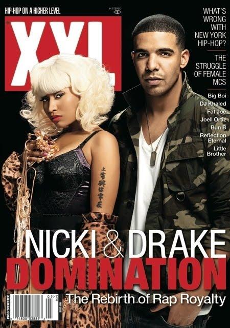 Drake amp; Nicki Minaj#39;s XXL Magazine Cover. Posted by M. at 7:14 PM