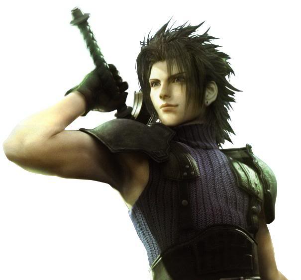 Final Fantasy 7 Anime Characters : High voltage final fantasy crisis core