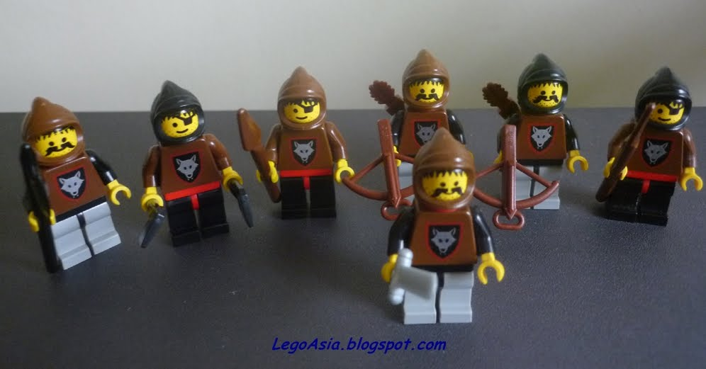 Lego Asia Lego Mini Armies Knights Amp Wolf Pack