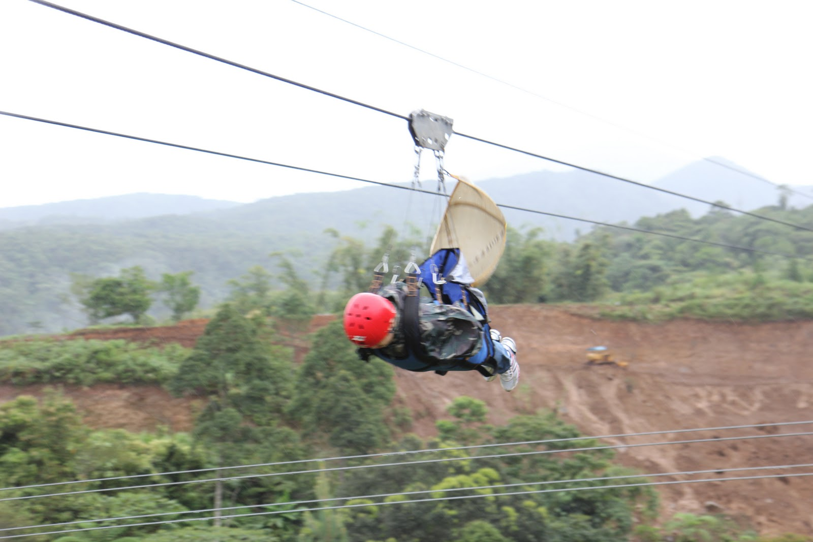 The tangled web zipline imagine when i was about to strap on and go zip well i did it it was like flying iron man style it was awesome solutioingenieria Images