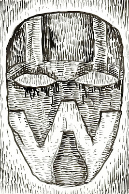 War Mask by William T. Ayton