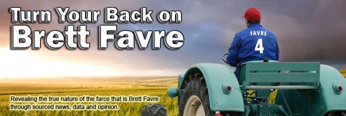 Turn Your Back on Brett Favre