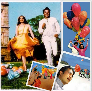 bollywood balloons, rajesh khanna, dharmendra
