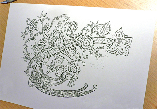 cool designs to draw on paper step by step
