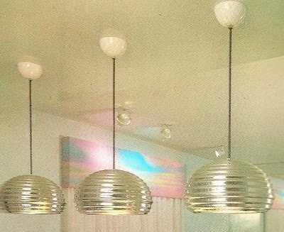 Etched Glass Pendant Light