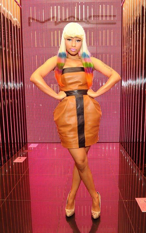 Nicki Minaj In Pink Dress. Nicki Minaj Releases Pink