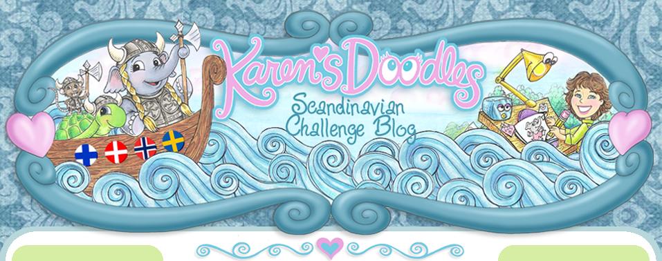 Karens Doodles Scandinavian Challenge Blog