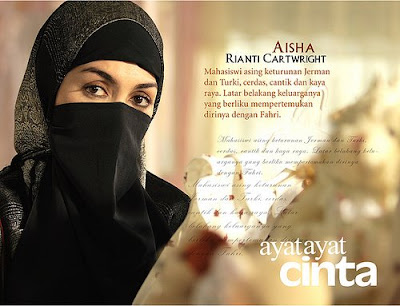 Niqab Exclusive Inspired by Ayat-Ayat Cinta