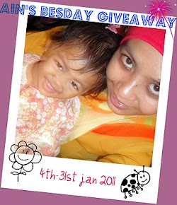 """Ain's Besday Giveaway"""