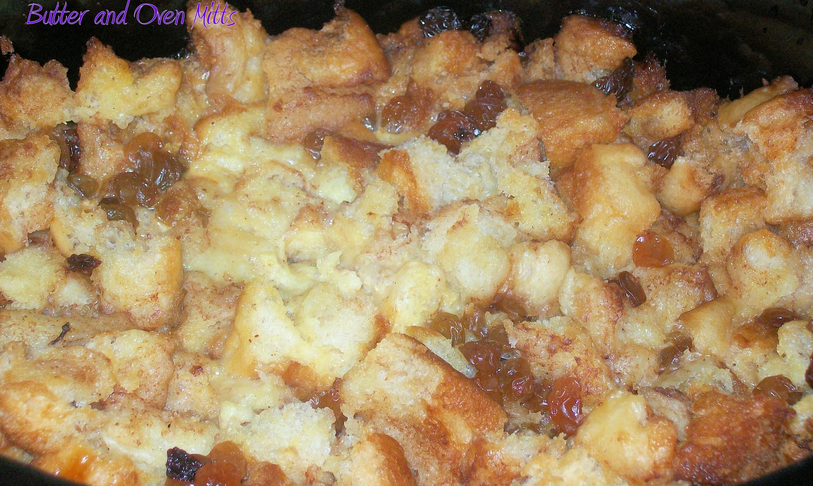 Butter and Oven Mitts: Slow Cooker Bread Pudding