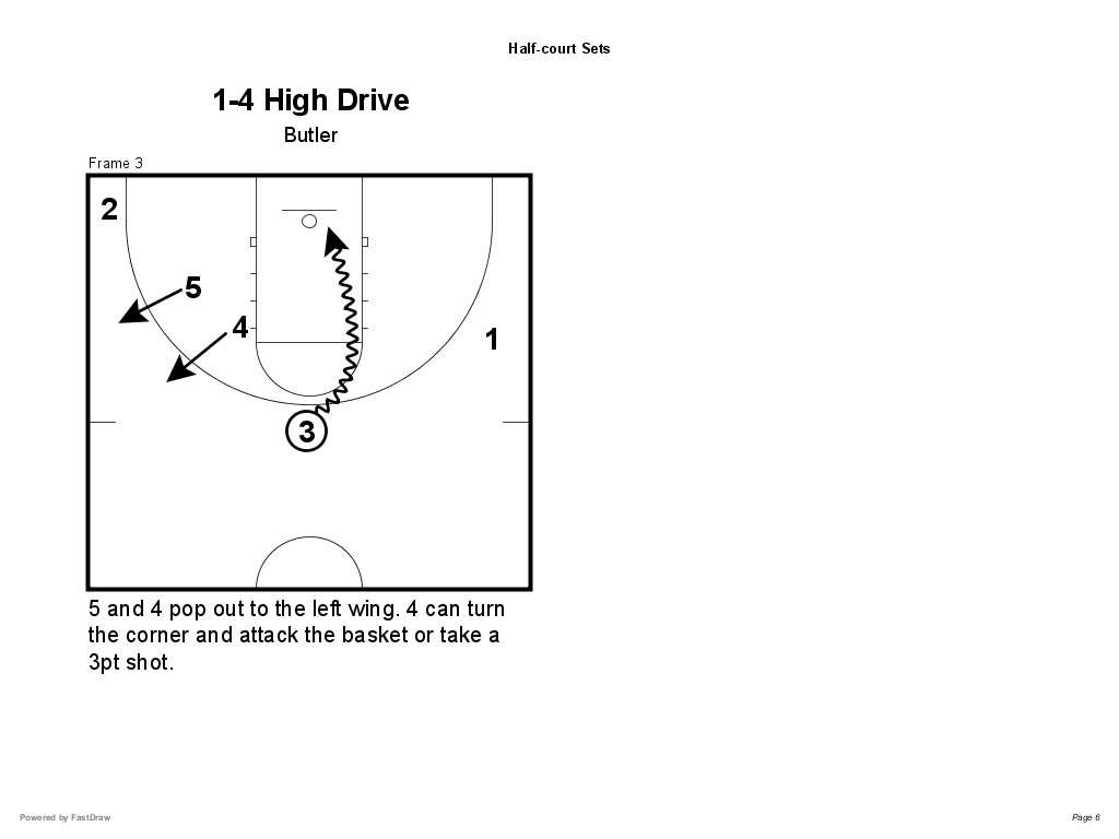 Half Basketball Design