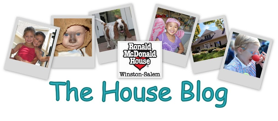 The Ronald McDonald House of Winston-Salem House Blog