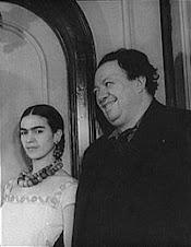 Diego Rivera con Frida Kahlo