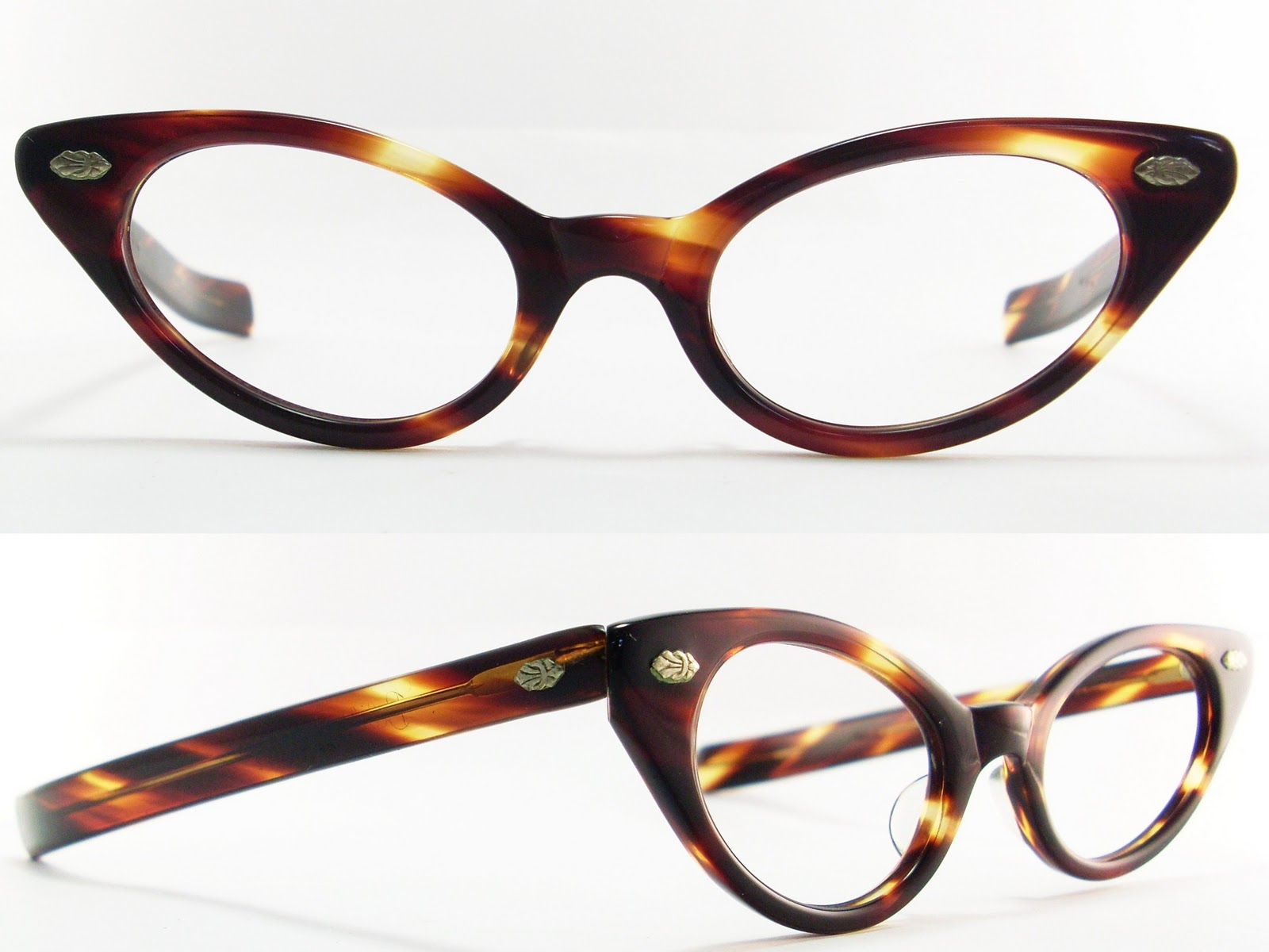 Vintage Eyeglasses Frames Eyewear Sunglasses 50S: VINTAGE CAT EYE ...
