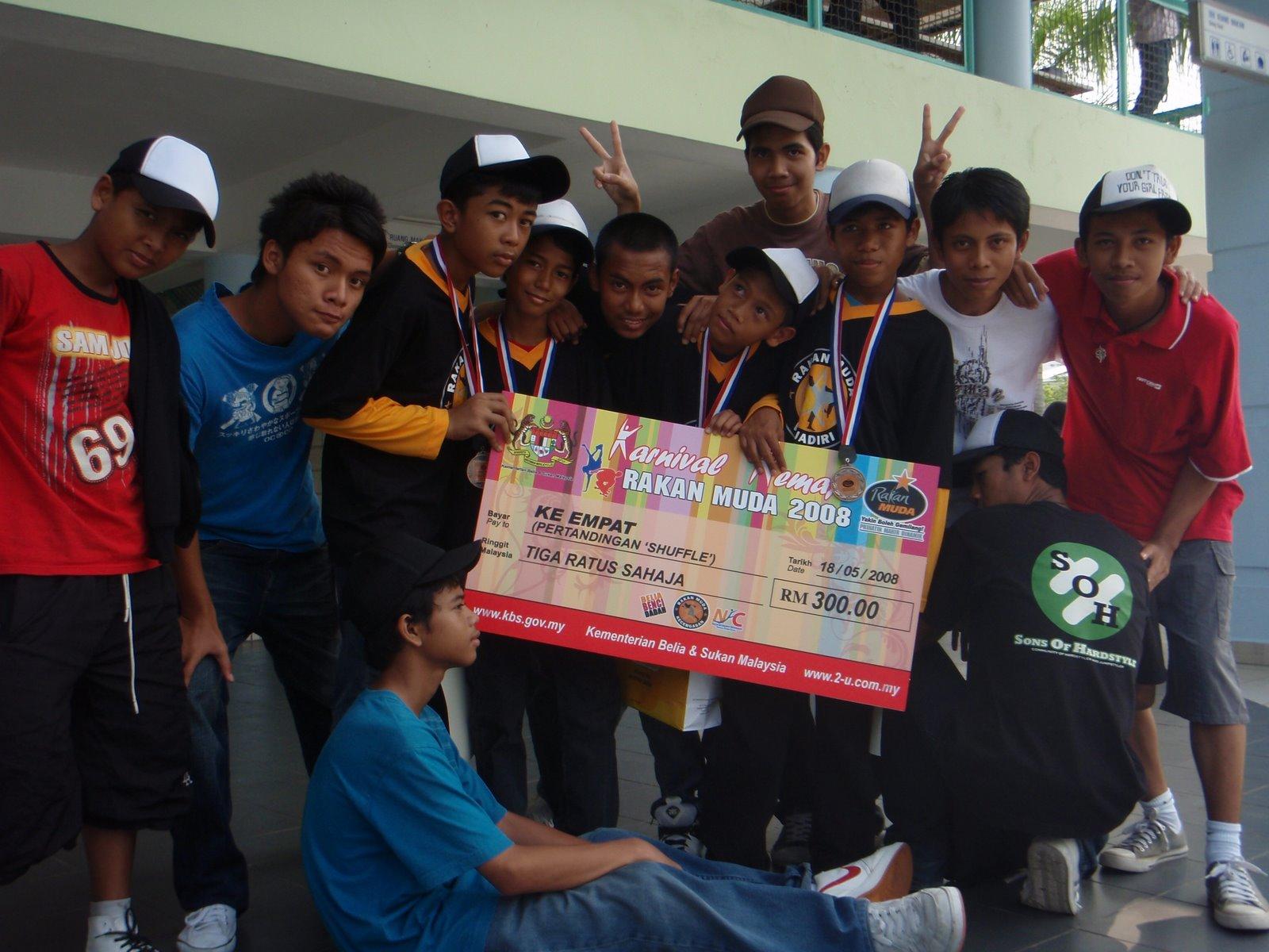 Karnival Remaja - Pertandingan Shuffle
