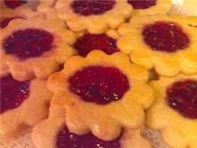 Raspberry-Jalapeno Jelly Cookies