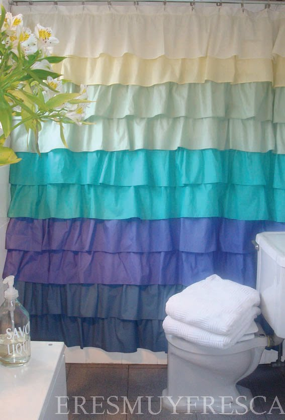 Eresmuyfresca cortinas de ba o - Cortinas para cuartos de bano ...
