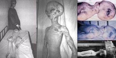 Foto-foto Alien Palsu Yang Pernah Diyakini Nyata