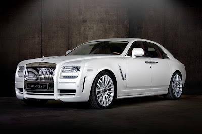 Wallpapers of New Mansory Rolls Royce Ghost White Edition