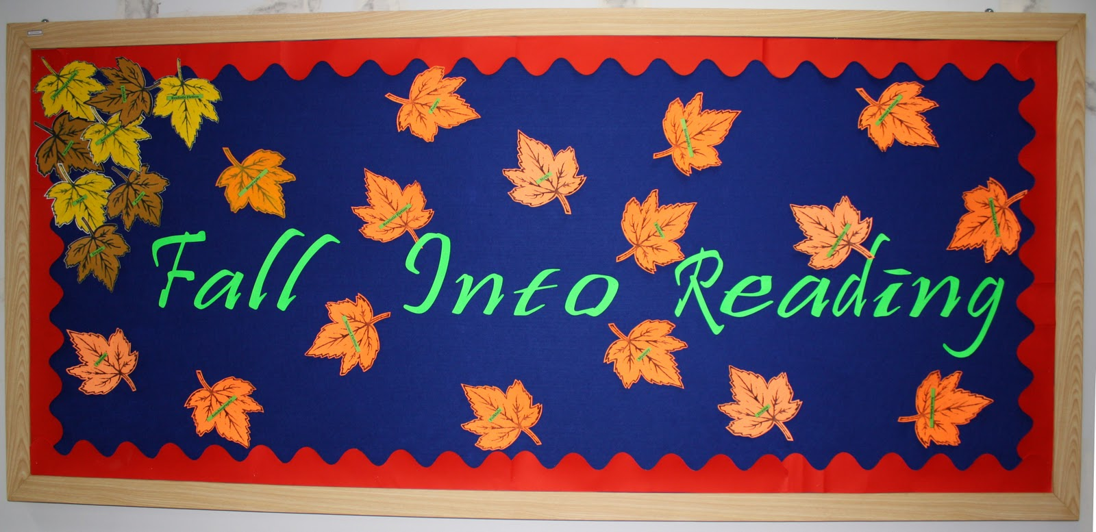 Fall Library Bulletin Boards