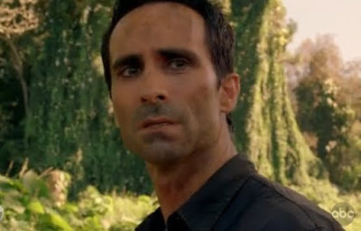 Lost Ab Aeterno Richard Alpert Nestor Carbonell eyeliner man screencaps images photos pictures screengrabs captures wife