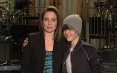 Tina Fey Justin Bieber Saturday Night Live SNL April 10 2010 screencaps images photos pictures