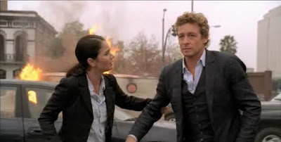 Teresa Lisbon Robin Tunney Patrick Jane Simon Baker The Mentalist screencaps images photos screengrabs caps pictures stills