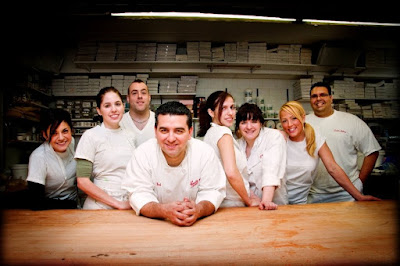 Cake Boss Crew: Toni Walton, Stephanie Fernandez, Tony Albanese, Buddy Valastro, Violet Valentin, Christine Campanelli, Daniella Storzillo, and Frank Amato Undead, Unclothed, and Unhappy Mama images photos pictures