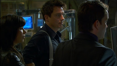 Eve Myles Gwen Cooper John Barrowman Captain Jack Harkness Ianto Jones Gareth David-Lloyd Torchwood Children of Earth screencaps images photos pictures screengrabs