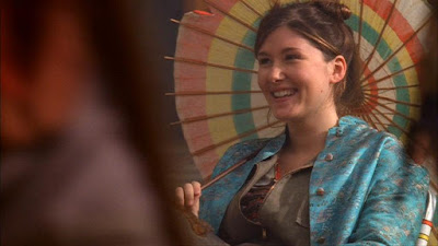 Jewel Staite Kaylee Frye Firefly umbrella screencaps images photos pictures captures screengrabs