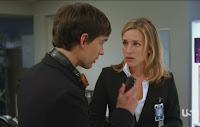 Covert Affairs Pilot episode screencaps Annie Walker Piper Perabo CIA agent images photos pictures screengrabs captures Auggie Anderson Christopher Gorham blind communications tech