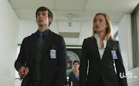 Covert Affairs Pilot episode screencaps Annie Walker Piper Perabo CIA agent images photos pictures screengrabs captures Auggie Anderson Christopher Gorham blind