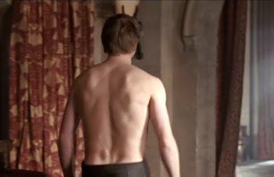Merlin The Tears of Uther Pendragon King Arthur Bradley James shirtless topless Merlin Colin Morgan Morgana Katie McGrath Gwen Angel Coulby Gaius Richard Wilson Uther Anthony Head screencaps images pictures photos recaps